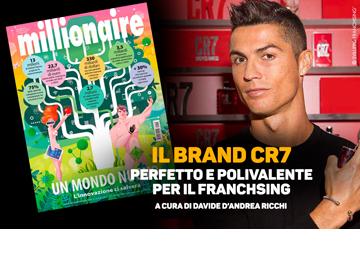 Il brand CR7, perfetto e polivalente per il franchising