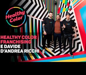 Healthy Color sceglie Davide D'Andrea Ricchi